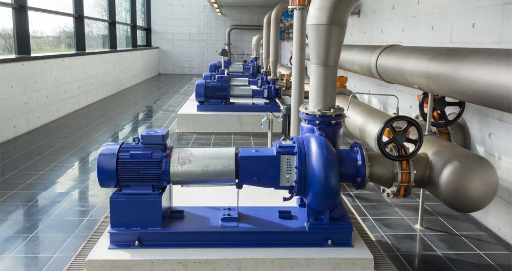 Оптимизиране на помпените системи при третирането на води