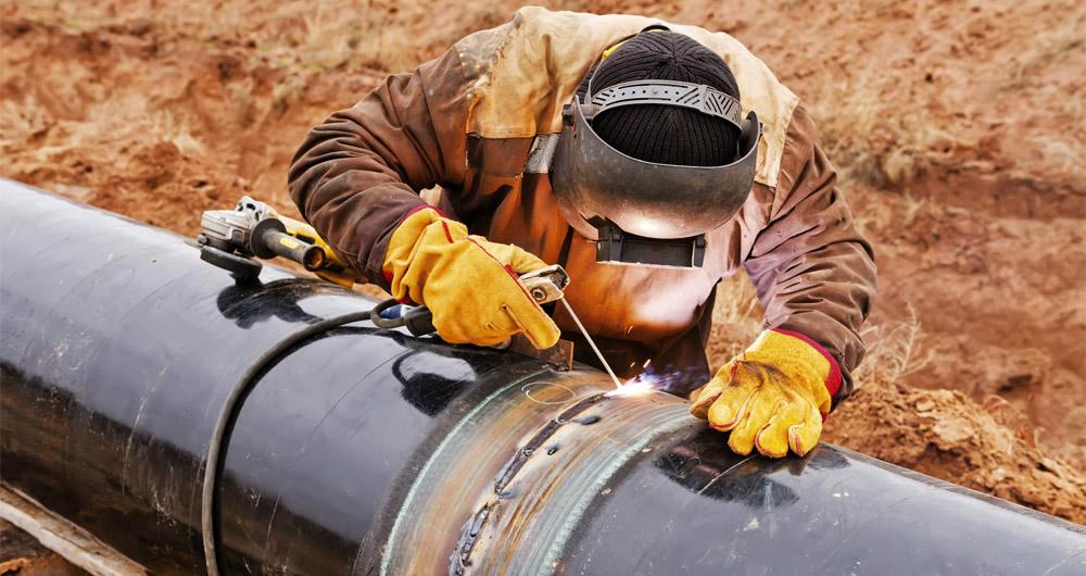 Надземен монтаж на газопроводи
