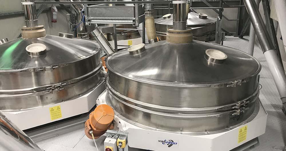 Индустриални сита Vibrowest - надеждност и ефективност на високо ниво