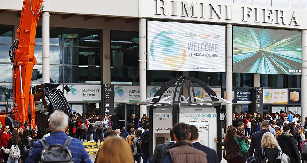 Ecomondo и Key Energy 2020 ще се проведат от 3 до 6 ноември в Римини
