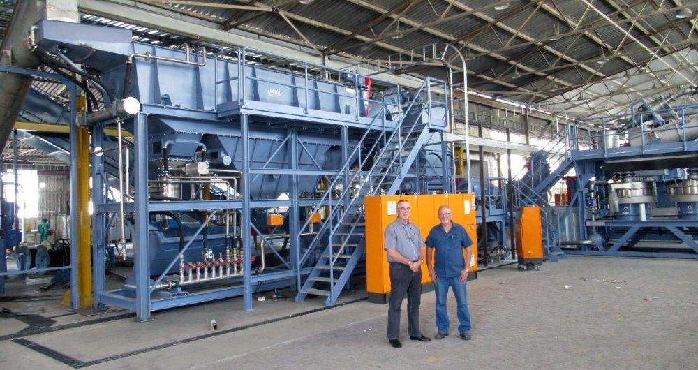Рециклиране на битови отпадъци - ПE фолио: сега и в Южна Африка!