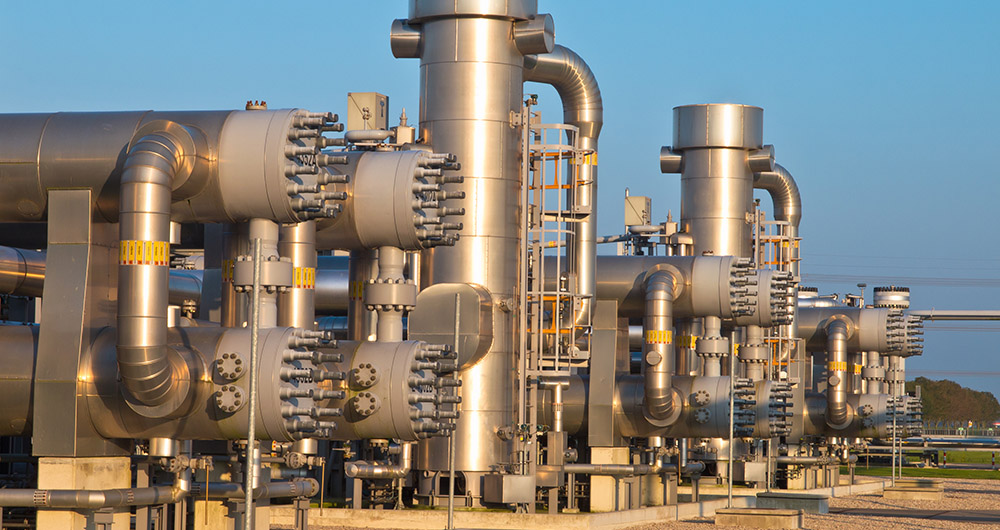 Промишлена газопроводна инфраструктура