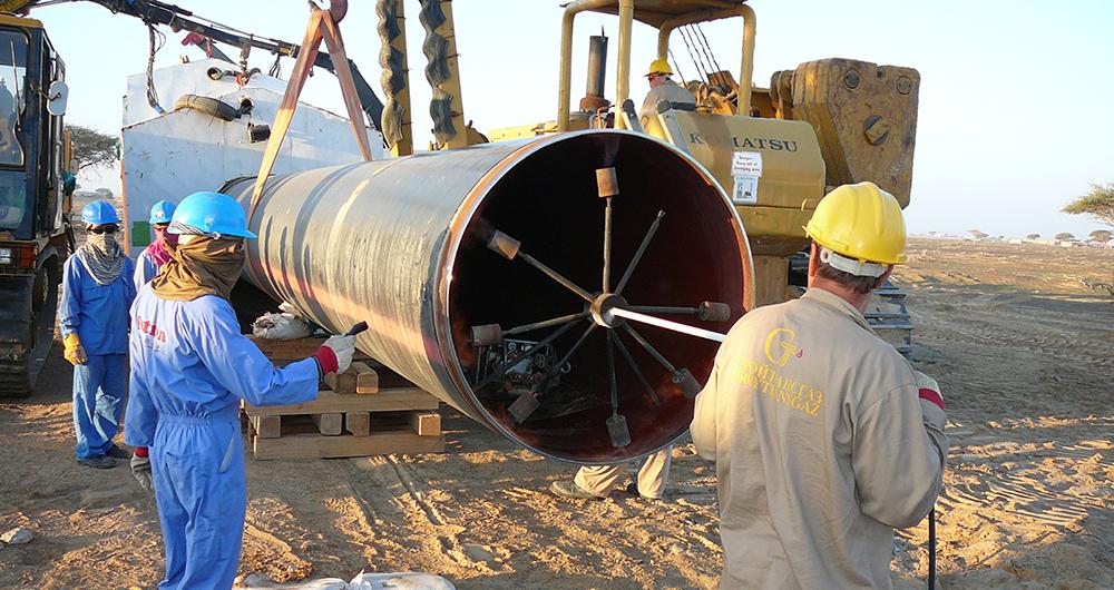Подземно полагане на газопроводи