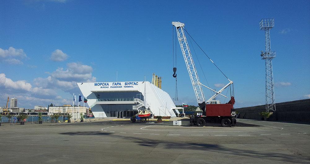 Откриха новата морска гара при Пристанище Бургас