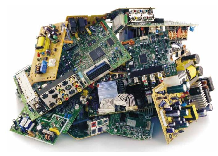 Обработка и рециклиране на електронни отпадъци