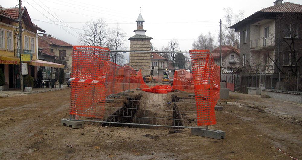 Рехабилитация на ВиК мрежата и изграждане на ПСОВ в община Етрополе