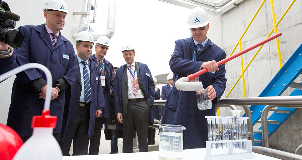 Аурубис България откри пречиствателна станция за дъждовни и повърхностни води
