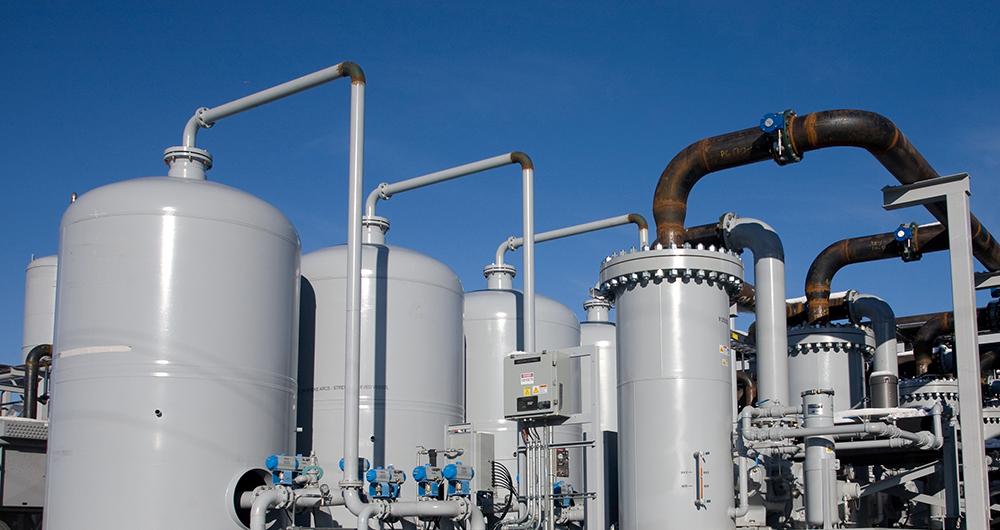 Технологии за третиране на сметищен газ