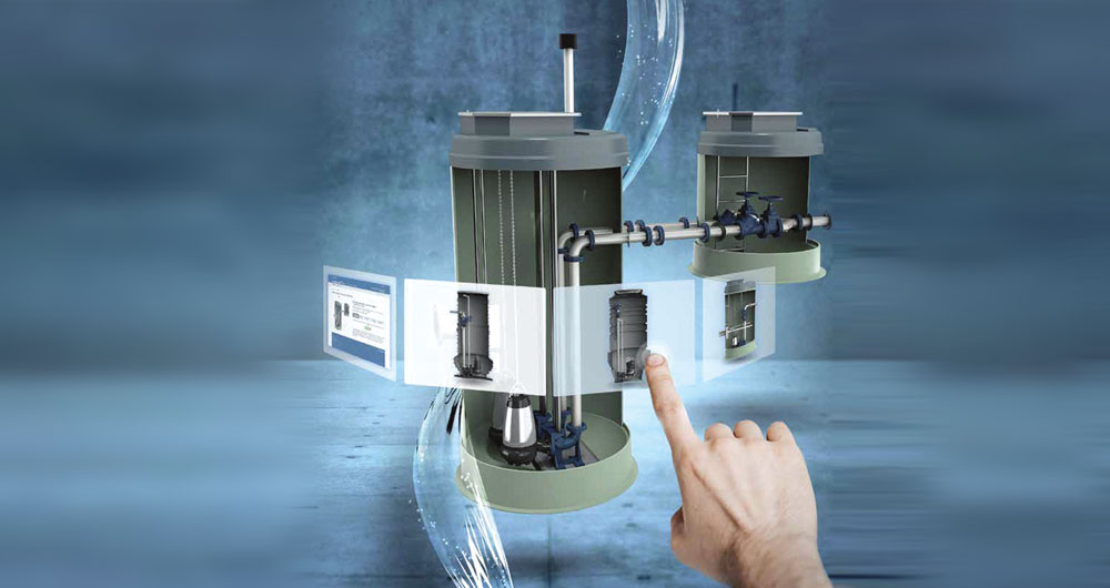 Предварително изработените помпени станции Grundfos са гъвкаво и надеждно решение за отвеждане на отпадъчни води