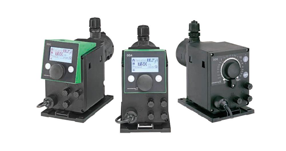 Дозиращите помпи Grundfos SMART Digital са с широки възможности по отношение на дебити и налягания